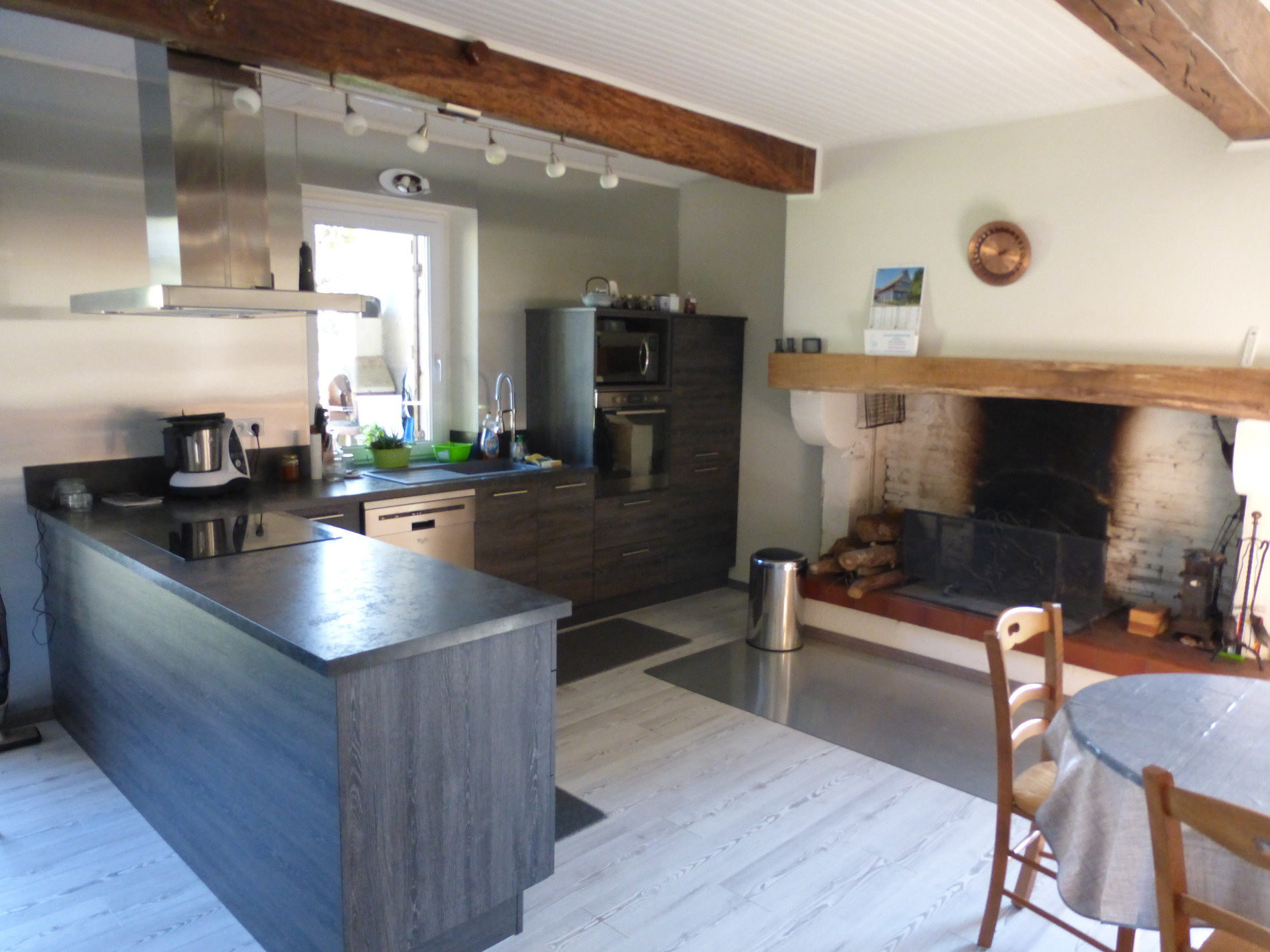 vente maison landaise enti rement renov e. Black Bedroom Furniture Sets. Home Design Ideas